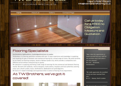 Web design Welwyn Herts flooring speacialists