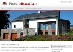 Web Design Ruislip Builders