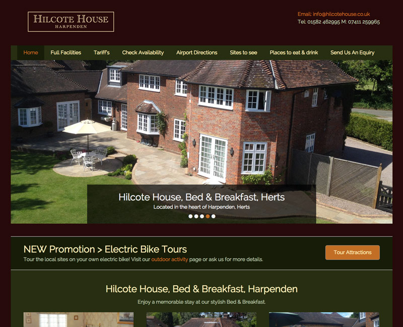 Web Design Harpenden, Hilcote House