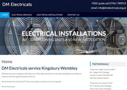 Web design Wembley electrical services